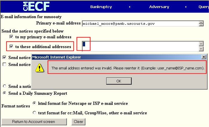 532eae6d62 It does not necessarily mean that the email address you entered was itself  invalid! Most often the message is triggered by the existence of  non-displayed ...